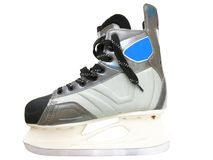 Hockey skates Stock Photo
