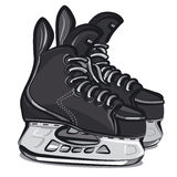 Hockey skates Stock Photos