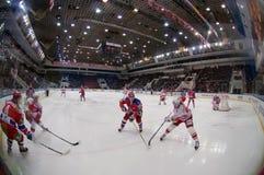 Hockey sobre hielo Foto de archivo libre de regalías
