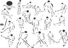 Hockey sobre hielo libre illustration