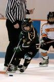 Hockey sobre hielo de la juventud Imagenes de archivo