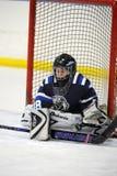 Hockey sobre hielo de la juventud Foto de archivo libre de regalías