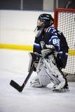 Hockey sobre hielo de la juventud Foto de archivo