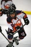 Hockey sobre hielo de la juventud Imagen de archivo