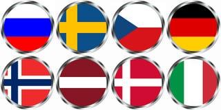 Hockey sobre hielo WM 2012 Imagenes de archivo