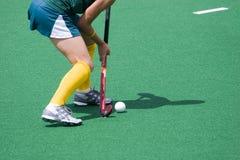 Hockey-Spieler Stockfotos