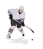 Hockey-Spieler Lizenzfreie Stockfotografie