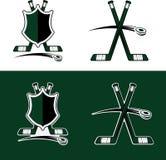 Hockey Sport Crests Stock Photos