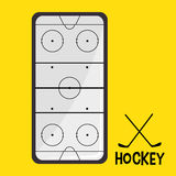 Hockey Sport design Royalty Free Stock Images