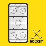 Hockey Sport design Royalty Free Stock Images
