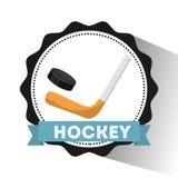 Hockey sport emblem icon Stock Images