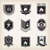 Hockey sport icons. This is file of EPS10 format Royalty Free Stock Photography