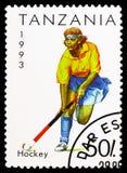 Hockey, Sport serie, circa 1993 royalty-vrije stock foto's