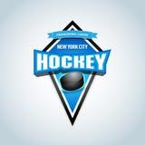 Hockey sport team logotype template. Hockey team logo template. Hockey emblem, logotype template, t-shirt apparel design.