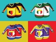 Hockey Sportswear Uniform Royalty Free Stock Photos