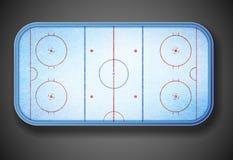 Hockey stadium Stock Photography
