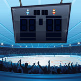 Hockey Stadium Royalty Free Stock Photos