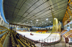 Hockey stadium Royalty Free Stock Photography