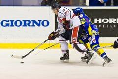 Hockey su ghiaccio Immagini Stock Libere da Diritti