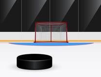 Hockey su ghiaccio Immagini Stock