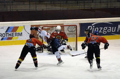 Hockey sur glace Photographie stock libre de droits