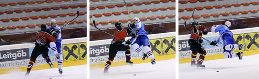 Hockey sur glace photos stock