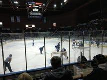 Hockey sur glace de Ligue Mineure photos libres de droits