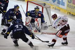 Hockey sur glace - extraleague tchèque Photographie stock libre de droits