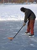 Hockey sur l'étang 2 photo stock