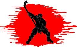 Hockey symbol Royalty Free Stock Images