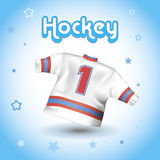 Hockey T-shirt Royalty Free Stock Photos