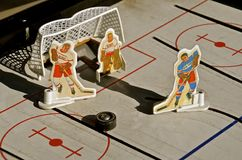 Hockey table game Board by Munroe Royalty Free Stock Image
