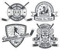 Hockey tattoos Royalty Free Stock Photos