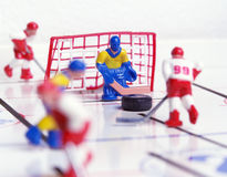 Hockey Toy Stock Image