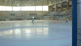 Hockey Training Day stock video footage