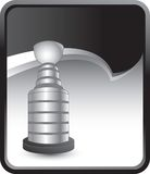 Hockey trophy on rip curl background Royalty Free Stock Photography