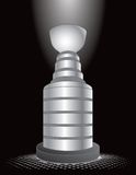 Hockey trophy under spotlight Royalty Free Stock Photo