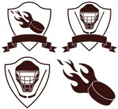 Hockey. Vector illustration (EPS 10 royalty free illustration