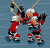 Hockey.  Victory Stock Photography