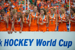 Hockey world cup champions Royalty Free Stock Photography