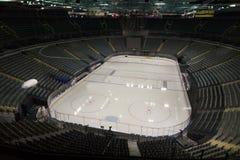Hockeydoelstellingen Royalty-vrije Stock Afbeelding