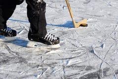 hockeyis Royaltyfri Foto