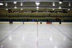 hockeyisbana Arkivfoto