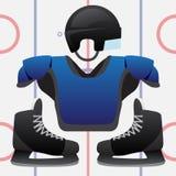 Hockeylek Royaltyfria Foton