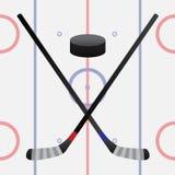 Hockeylek Royaltyfri Foto