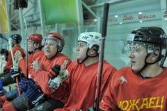 Hockeymusikband Fotografering för Bildbyråer