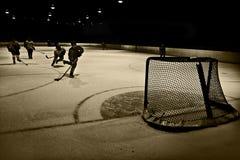 Hockeynetz Stockfoto