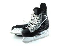 Hockeyrochen auf einem weißen Hintergrund Stockfotografie