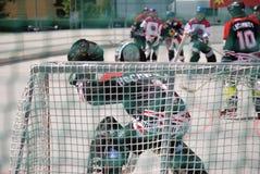 hockeyrulle Arkivfoto