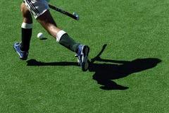 hockeyskuggor Fotografering för Bildbyråer